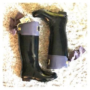 NWT •Tall Rain Wellies• by Joules